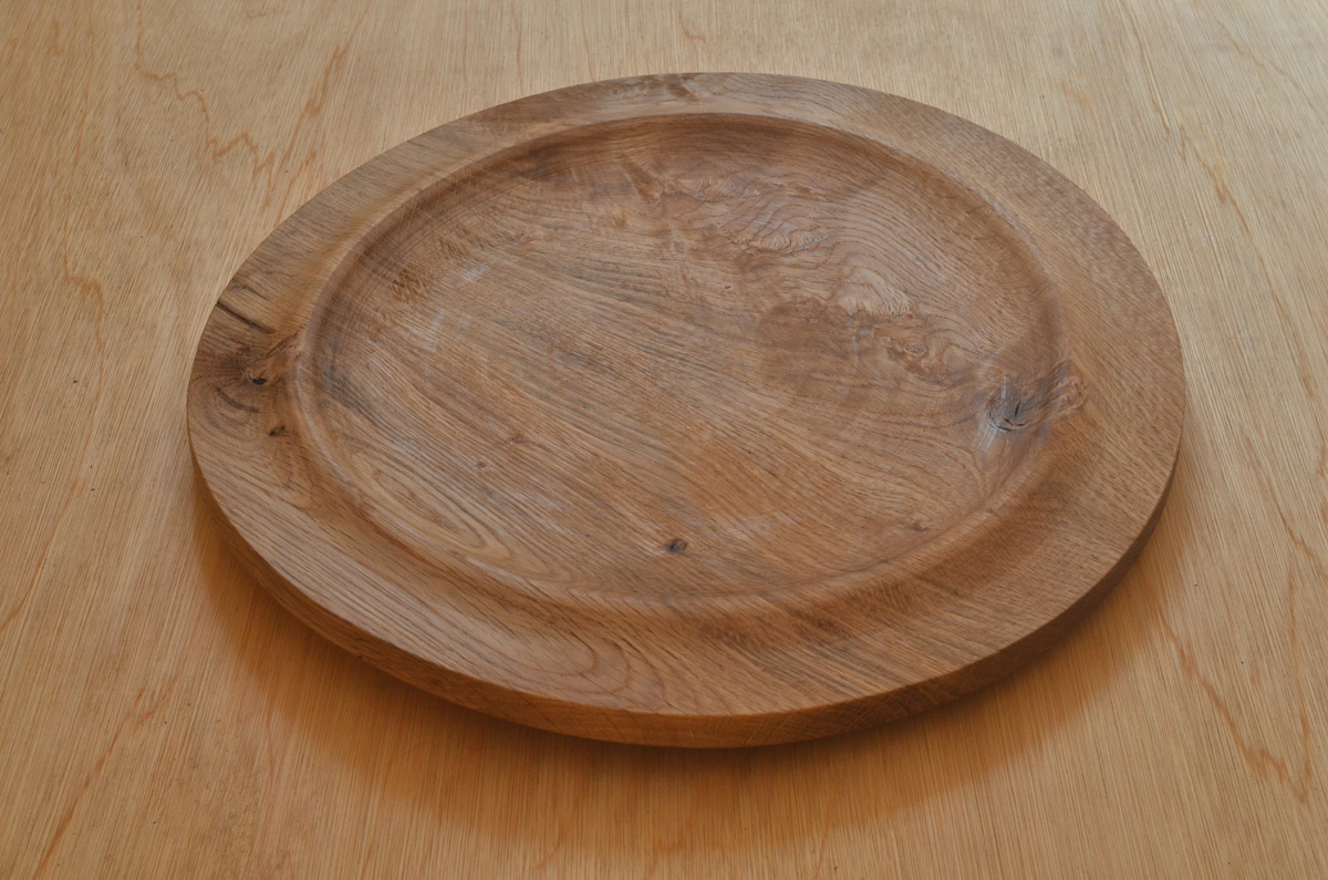 Woodturned pizza plates for sale